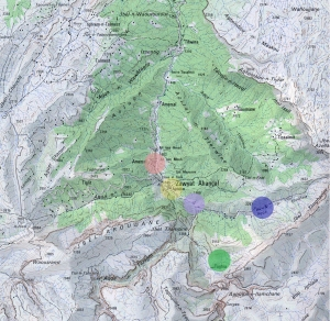 The villages of Zawiya Ahansal.