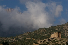 The village of Amezray is protected by its 500 year old communal granary.
