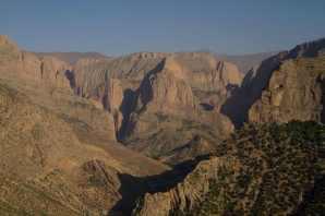 The Central High Atlas Mountains.