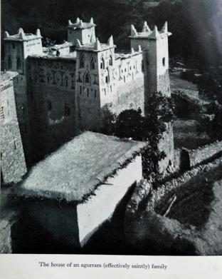 The Ait SIdi Mouh saint's house.
