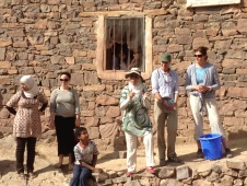 Health awareness day in the village of Aguddim.