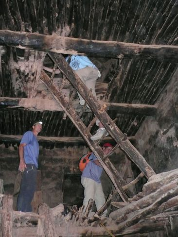 Documenting the historic Tighanimin granary.