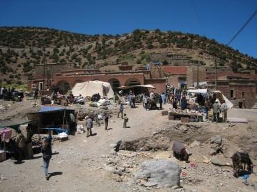 Market day in Zawiya Ahansal.