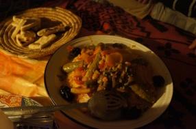 Traditional Berber tagine.